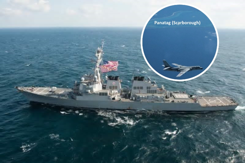 China warns of counter measures after USA  warship sails through SCS