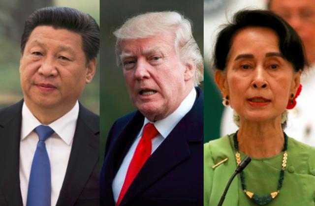 Xi_Trump_SuuKyi_threesome_combo_REU