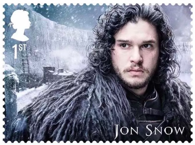 The mail remembers: 'Game of Thrones' stamps feature fan favorites