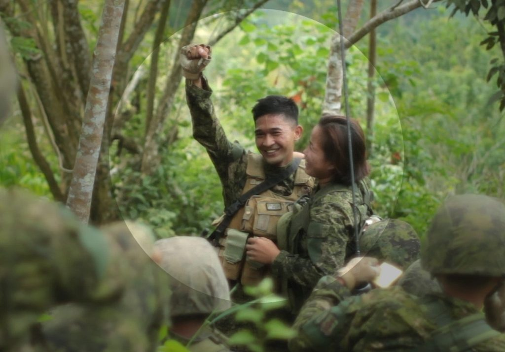 Denemar and Christine, 33rd Infantry Makabayan Battalion