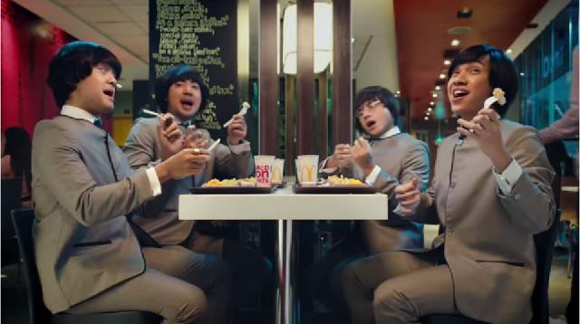 The Beatles Polska: Filipińska reklama McDonald's z beatlesowskim motywem