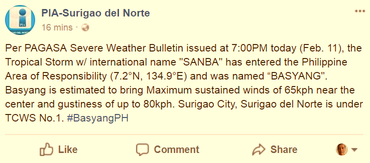 Storm_Basyang_PIA_SurigaoSur_tweet