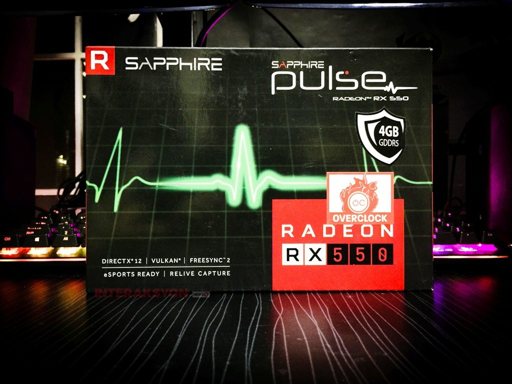REVIEW | Sapphire Pulse Radeon RX 550 4GB: The red team's