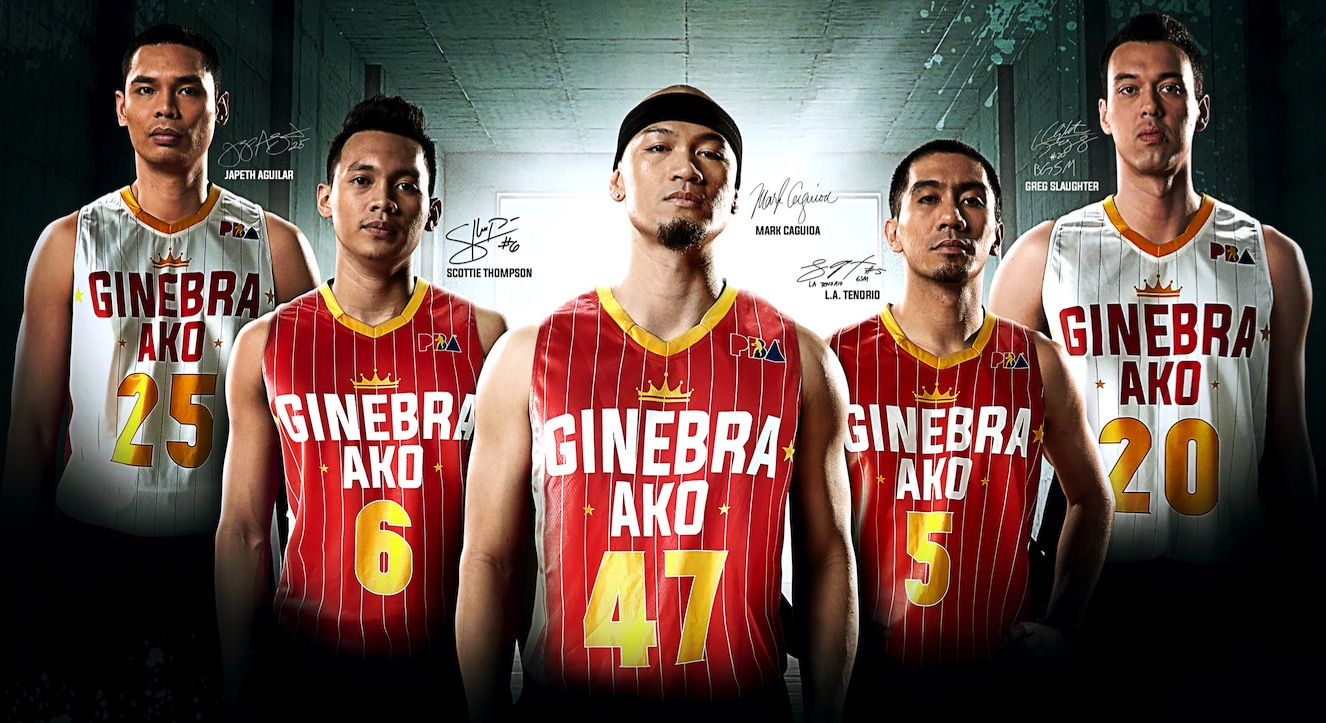 Ginebra launches 2018 limited edition jerseys - Interaksyon