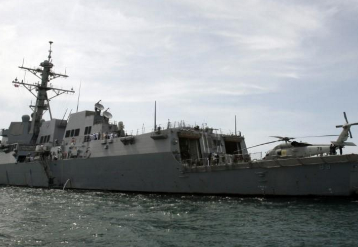 USA  destroyer sails close to contested island in South China Sea