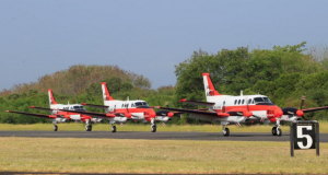 Three units of Beechcraft TC90 aircraft