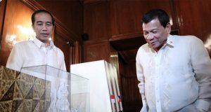 Joko Widodo and Rodrigo Duterte