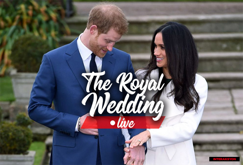 LIVE coverage: The royal wedding of Prince Harry and Meghan Markle
