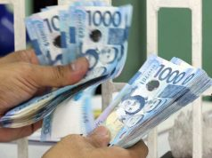 Philippine peso bills
