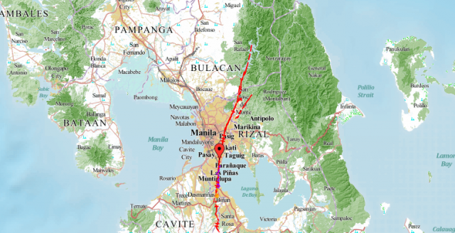 Philippine West Valley Fault Line Map Quake prone Philippine archipelago as seen in seismic maps