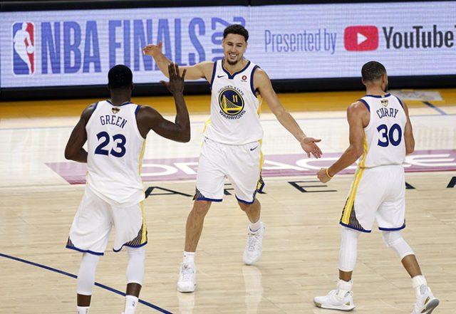 Despite James 51 Warriors Take Finals Opener In Overtime