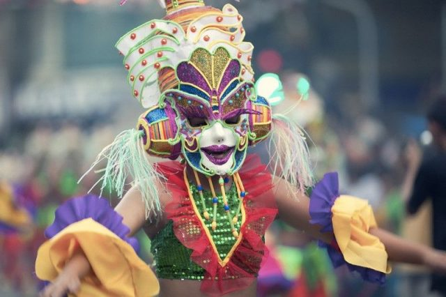 Bacolod City's MassKara Festival has an untold origin story. File Photo