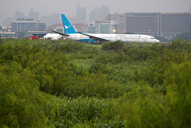 Xiamen Air passenger jet overshoots runway in Manila, no