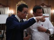 Salvador Panelo and Rodrigo Duterte