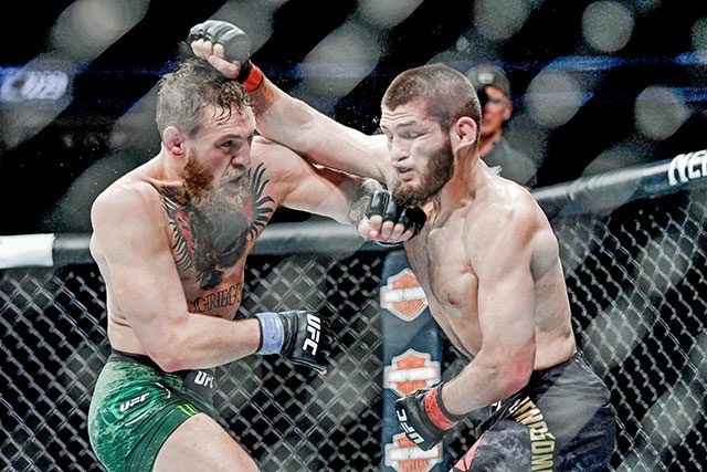 How UFC match with Conor McGregor ended in all-out brawl - Interaksyon