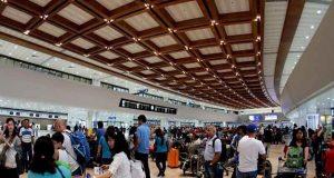 NAIA terminal passengers