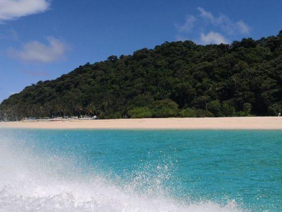 Puka Beach in Boracay Island