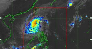 Typhoon Rosita