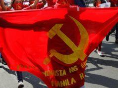 Communist flag in the Philippines