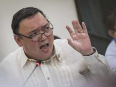 Harry Roque is angry