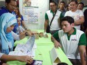 Sebastian Duterte filing his COC