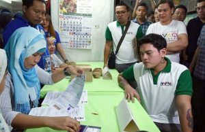 Sebastian Duterte filing his COC