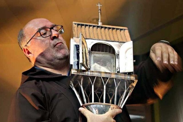 Padre Pio's heart relic for Interaksyon