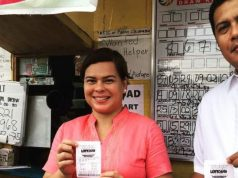 Sara Duterte bets on lotto