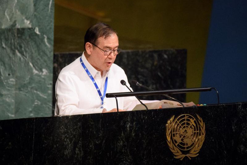 Teodoro Locsin Jr. at the UN