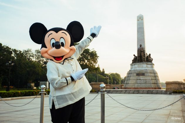 Mickey Mouse in Rizal Park