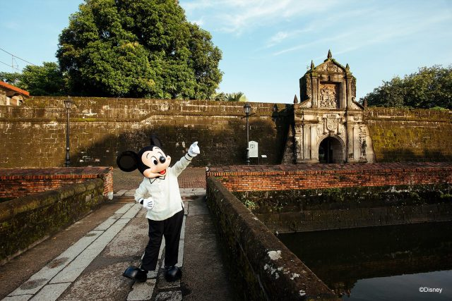 Mickey Mouse in Fort Santiago
