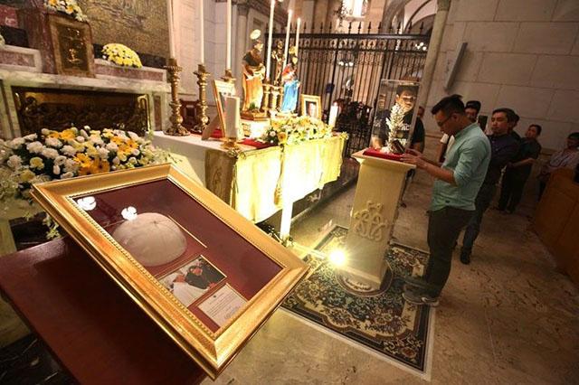 A Christian altar