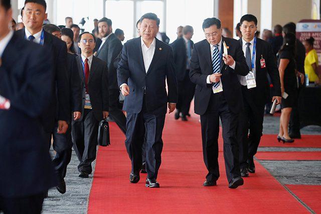 Chinese President Xi Jinping Interaksyon