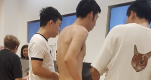 Chinese national accused of unruly behavior