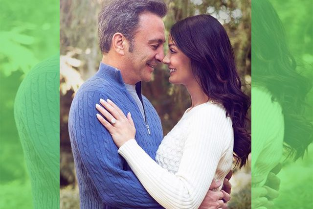 Dayanara Torres and Louis D'Esposito