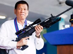 Duterte with a sniper