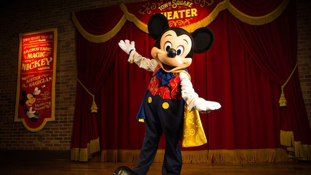 Mickey Mouse in theater