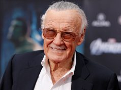 Comic book creator and executive producer Stan Lee
