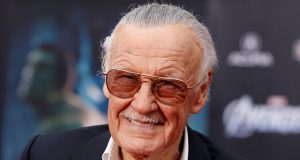 Comic book creator and executive producer Stan Lee