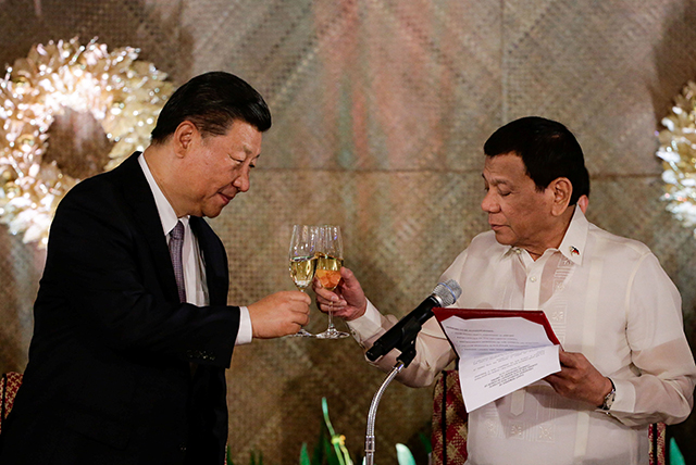 China's unmet pledges to Philippines seen as reason for Duterte's shift in tone