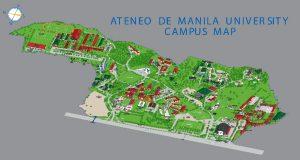 Ateneo de Manila University map