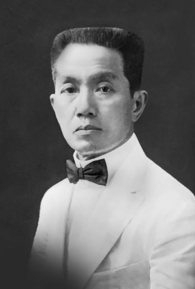 Emilio Aguinaldo in 1919