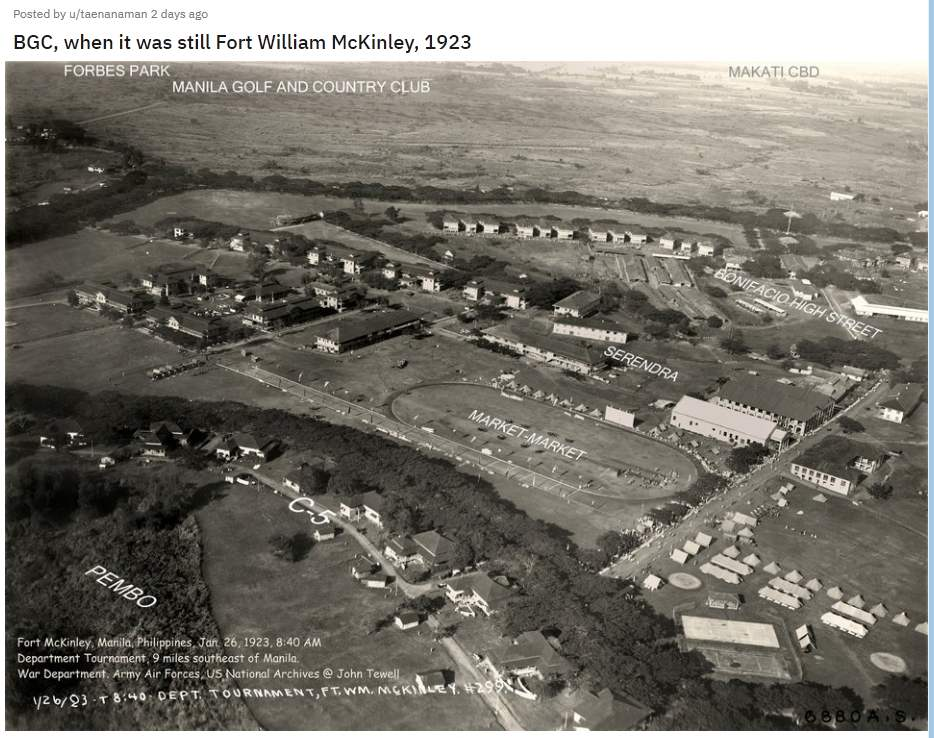 Fort William McKinley and BGC