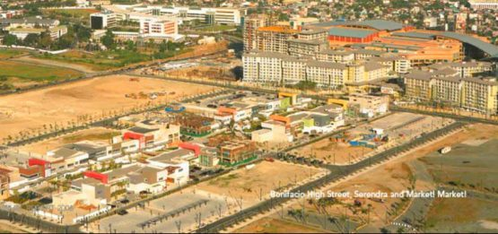 Being developed: Bonifacio High Street