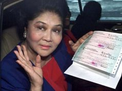 Imelda Marcos' pension