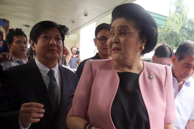 Imelda Marcos posts bail