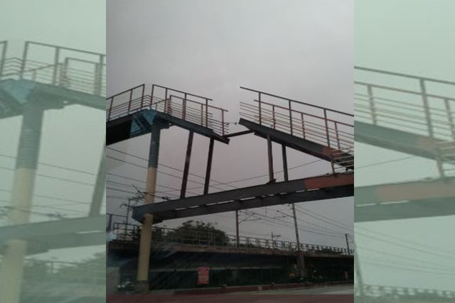 Unfinished MMDA bridge