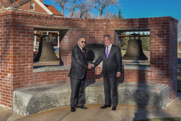 Balangiga Bells in Wyoming