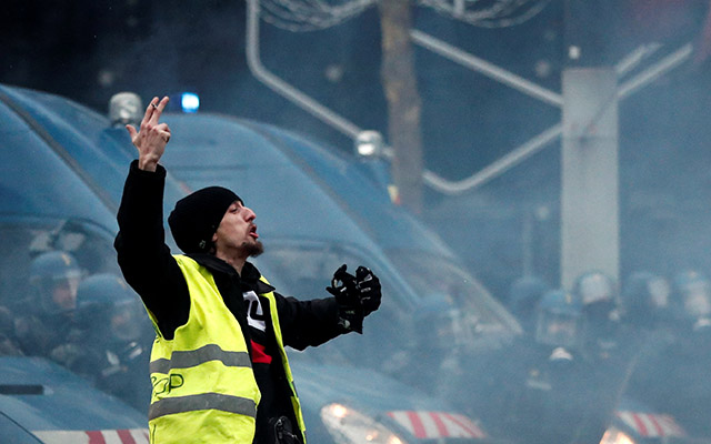 Yellow Vests Movement France Interaksyon