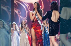 Catriona Gray as Miss Universe